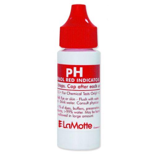 LaMotte ColorQ Pro 7 Liquid Pool Water Test Kit pH Reagent - 30 mL