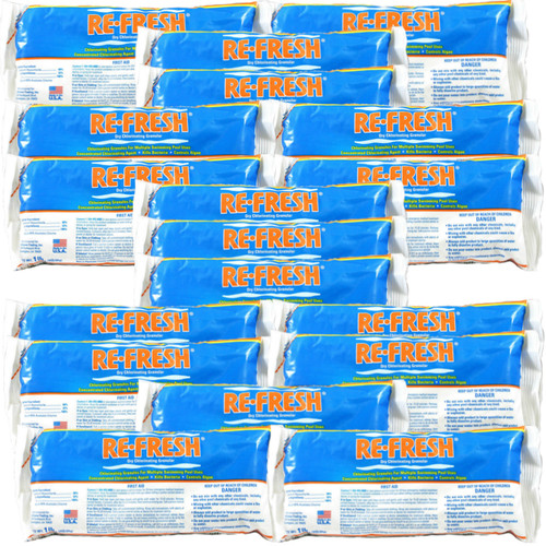 Re-Fresh Chlorine Pool Shock - 18 X 1 lb. bags (25284-18)