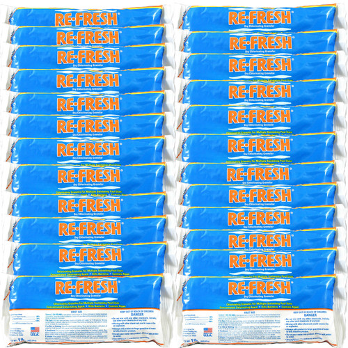 Re-Fresh Chlorine Pool Shock - 24 X 1 lb. bags (25284-24)