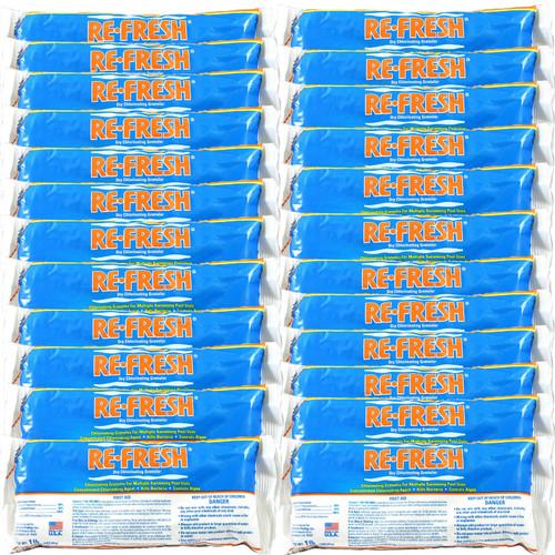 Re-Fresh Chlorine Pool Shock - 24 X 1 lb. bags (25284-24)