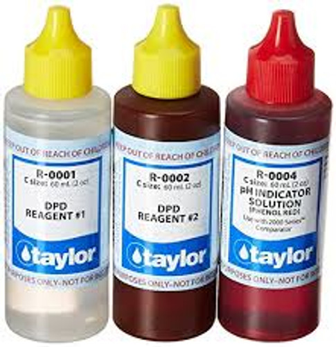 Taylor Replacement Reagent Refill Kits - Basic Refill Kit - 2 oz. (Taylor Replacement Reagent Refill Kits 2 oz.)