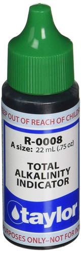 Taylor Total Alkalinity #8 - 3/4 Oz. Dropper Bottle (R-0008-A)