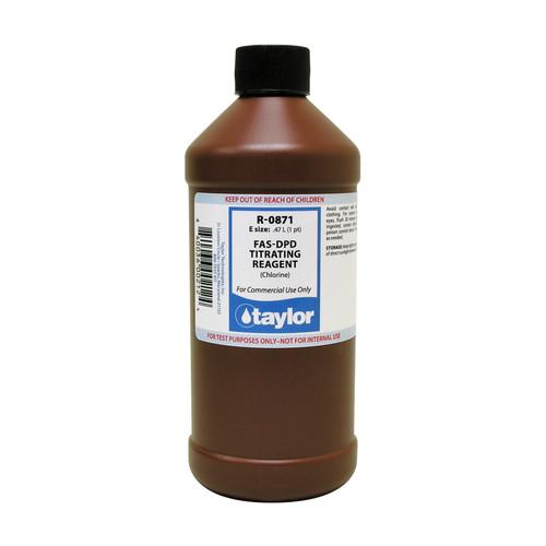 Taylor FAS-DPD Titrating Reagent (Chlorine) - 16 Oz. Bottle (R-0871-E)