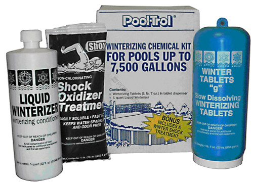 Pool Trol 7.5K Gallon Winter Kit, 57532 (QUA-50-0075)