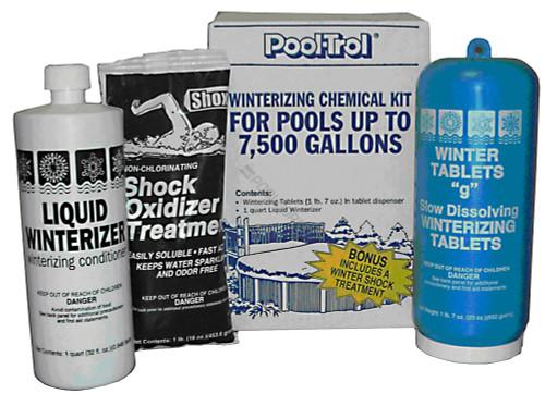 Pool Trol 7.5K Gallon Winter Kit, 57532 (QUA-50-0075)