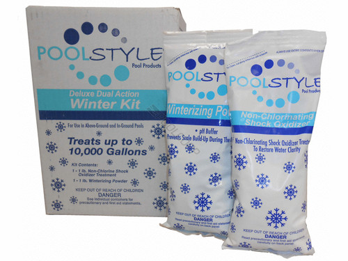 Poolstyle Deluxe Triple Action Winter Kit 10K Gallon, 33840P (PSL-50-0010)