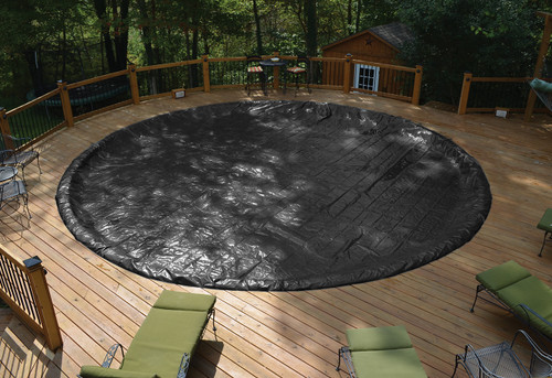 GLI 24' Round Above Ground Classic Pool Cover w/ 4' Overlap (45-0024RD-CLA-4-BX)