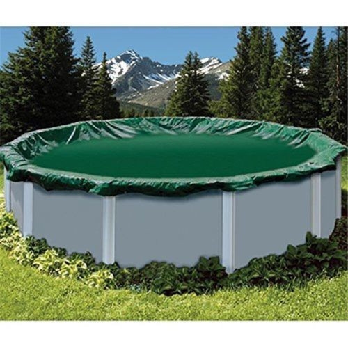 Swimline 24' Round Ripstopper Above Ground Pool Cover w/ 4' Overlap (RIG24)