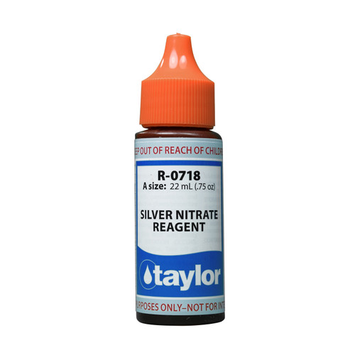 Taylor Silver Nitrate Reagent - 3/4 Oz. Dropper Bottle (R-0718-A)
