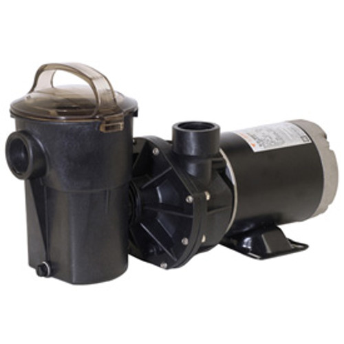 Hayward Power-Flo LX Series 1HP Vertical Above Ground Pool Pump with 6' Cord (W3SP1580)