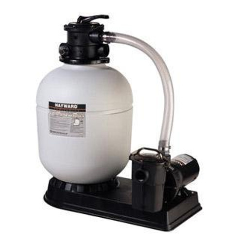 """Hayward Pro Series 18"""" 1 HP Top Mount Sand Filter System with Hose, W3S180T92S (HAY-05-828)"""