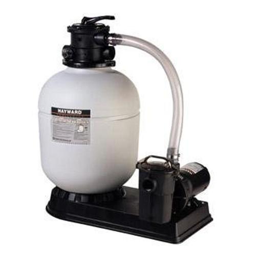 Hayward Above Ground 18-IN Sand Filter w/ 1 1/2HP Power-Flo Matrix Pump & 6' Cord (W3S180T93S)