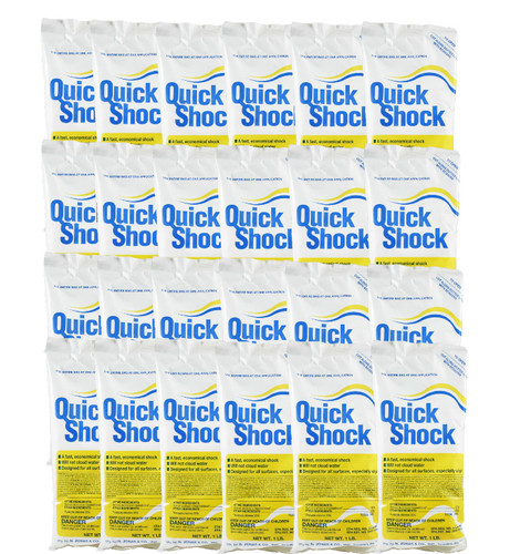 Quick Shock (24 Bags, 24 lbs.) (19001-24bags)