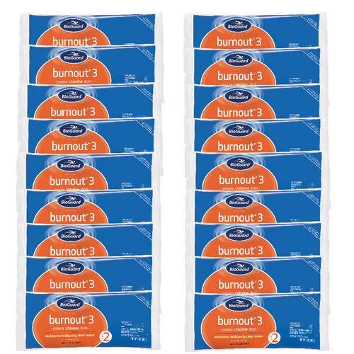 BioGuard Burnout 3 Shock (18 Bags, 18 lbs.) (22808BIO-18pk)