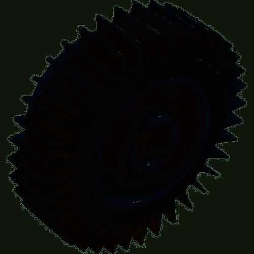 Hayward SharkVac Overmolded Wheel Assembly (RCX97508GR), 610377198349, AQV-201-7508
