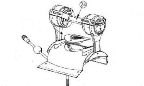 Maytronics Handle Assembly Premier, 99957078-ASSY