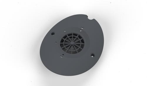 Maytronics Impeller Cover MC55, Dark Gray, 99806257