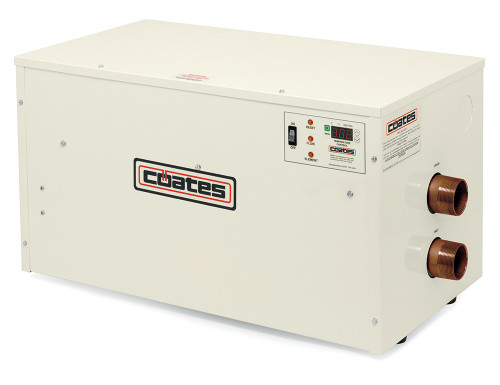 Coates PHS Series Electric Salt Pool & Spa Heater 24KW, 240V, 100A (12424PHS-CN)