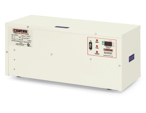 Coates TR Series Electric Salt Pool & Spa Heater 18KW, 208V, 48A (32018TR)