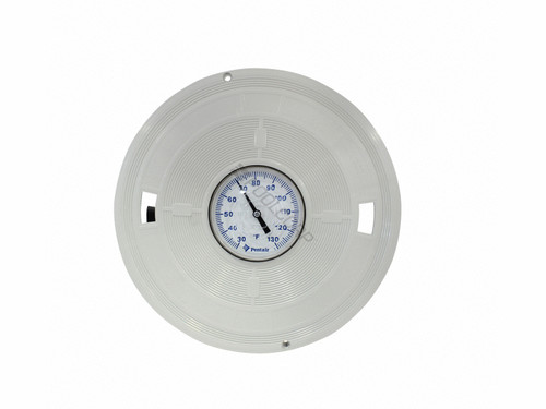 Pentair Bermuda Skimmer Lid With Thermometer, White, L6W (LET-251-6997)