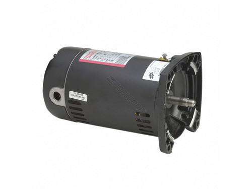 Century 48Y Square Flange 1 HP Full Rated Pool Filter Motor, 19.2/9.6A 115/230V, SQ1102 (AOS-60-5059)