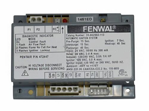 Pentair Ignition Control Module, 472447 (PUR-151-4101)