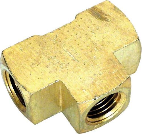 "Pentair .25"" 2000/4000 Brass Tee Fitting, 071982 (PUR-051-4911)"