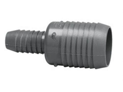 "Lasco 1.5"" x 1.25"" Insert PVC Reducing Coupling 1429-212 (LAS-56-4549)"
