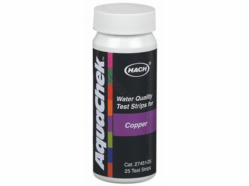 AquaChek Copper Test Strip, 25 Strips, 661454E (AQC-45-883)