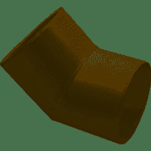 "Lasco 3/4"" Socket PVC 45 Degree Elbow Sched 40 417007BC (LAS-56-4070)"