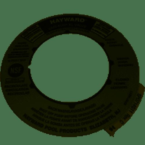 Hayward Valve Label SPX0714G (HAY-061-2147)
