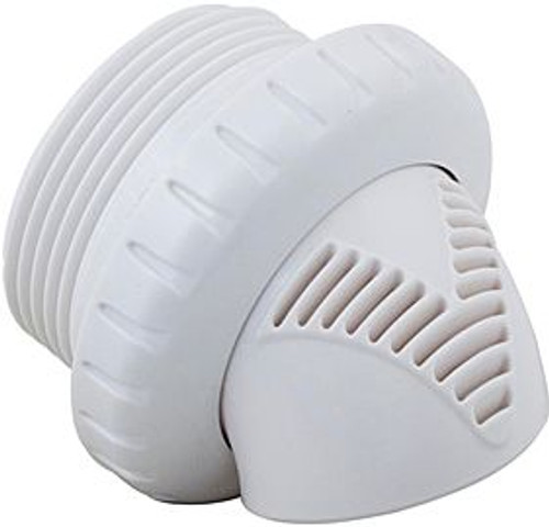 """Infusion Pool Products Venturi Return Fitting Threaded 1.5"""" Inlet White ( VRFTHWH )"""