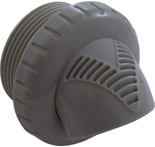 Infusion Pool Products Inlet Fitting, Return Line Venturi Jet w/ Flange, Dark Gray, VRFTHFDG
