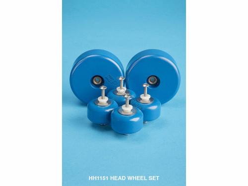HammerHead Head Wheel Kit, 2 Large, 4 Small, HH1151 (HPP-201-2067)