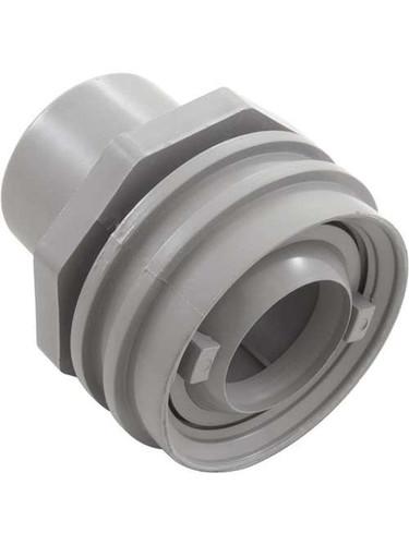 """CMP Flush Return & Plastic Cap Eyeball Return Fitting 1.5"""" Socket, Gray, 25557-001-000 (CTM-25-2054)"""