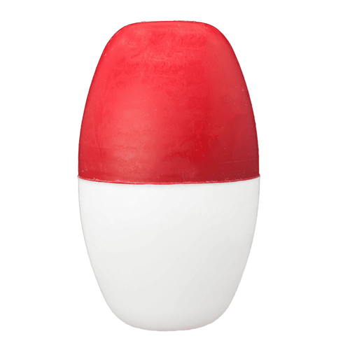 """Pentair 3"""" X 5"""" Red and White Oval Float , R181026 (RAI-40-2412)"""