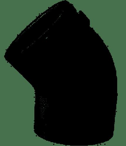 """Lasco .5"""" Schedule 40 PVC 45° Elbow, 417-005 (LAS-56-4069)"""