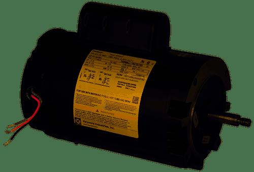Hayward 1.5 HP 2-Speed Max-Flo Threaded Shaft Motor, SPX1610Z2MNS (HAY-101-2101)