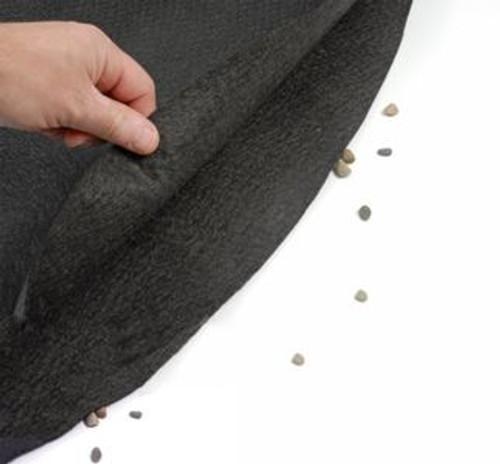GLI Armor Shield Liner Floor Pad, 21' x 43' Oval, 70-2143OV-BLK-160 (AG-LA-1168)