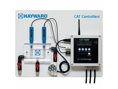 Hayward Machined Flow Cell with Rotary Flow Sensor For Chemical Control Systems, AC075 (CHT-451-1000)