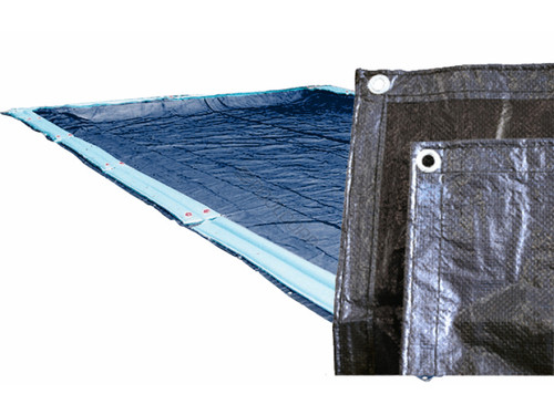 Royal 16'x32' Rectangle In-ground Pool Winter Cover, 772137IU (GPC-70-1154)
