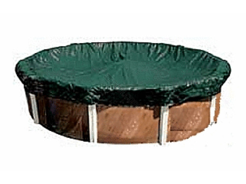Cool Covers 24' Solid, Unbound, Above-Ground, Round Winter Cover, 101027AU (GPC-70-1205)