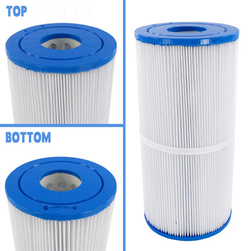 "Jacuzzi Whirlpool Spas Filter 5 3/4"" X 11 7/8"" 25 SQ FT Cartridge, APCC7074"