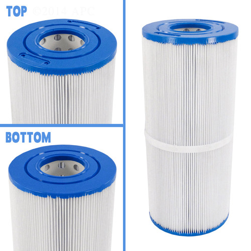 "Thermo Spas Filter 4 15/16"" X 11 3/8"" 25 SQ FT Cartridge, APCC7102"