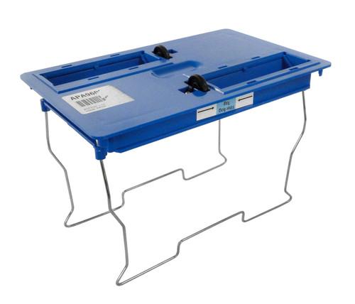 Aqua Products Bottom Lid Assembly, Blue, Advanced with Wheels, APA9600BL