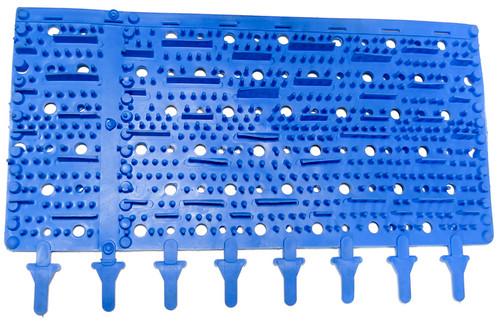Aqua Products Brush Rubber Size 15, Blue, Pack OF 2, APSP3002BM