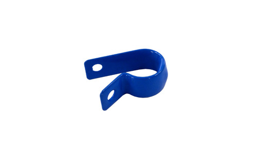 "Aqua Products Coated Steel 7/16"" P-Clip, Blue, Pack of 2, AP2109"