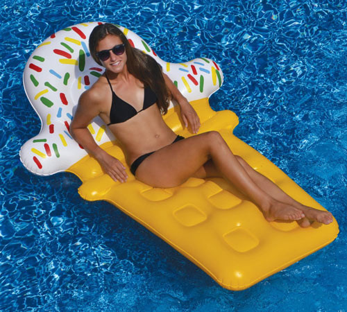 Swimline Ice Cream Dream Float Inflatable Pool Toy Raft 90642 (SWL-90-0606)tion!