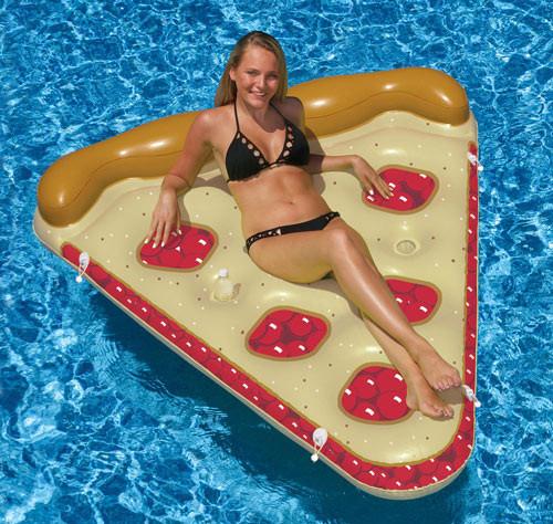 "Swimline 60""X 72"" Cherry Pie Pool Float Inflatable Food Mattress 90646 (SWL-90-0607)"