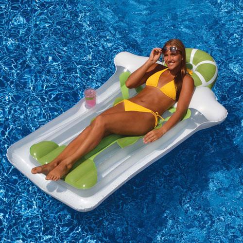 "Swimline Giant 75 ""Inflatable Margarita Mattress For Swimming Pool Float 90653 (SWL-90-0608)"